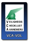 Van Dam Compact Lifting Services is VCA VOL Gecertificeerd
