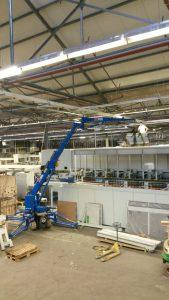 Hoeflon Minikraan Fabriek Den Haag