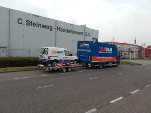 minikraan Amsterdam