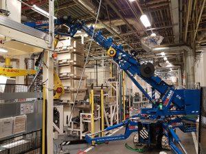 Hijswerkzaamheden in fabrieksinstallaties